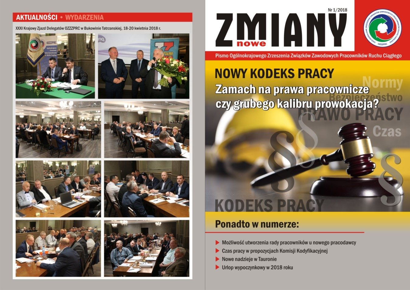 Thumbnail for the post titled: Nowe Zmiany – Pismo OZZZPRC
